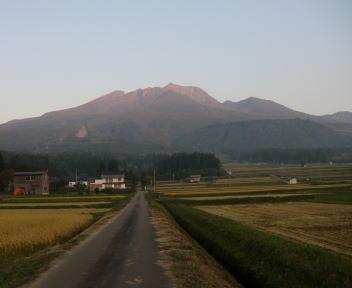 妙高山(朝)