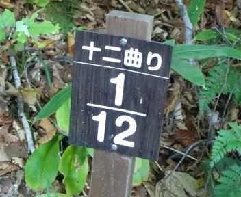 火打山 十二曲り1/12