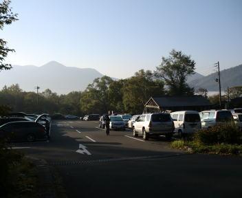火打山 笹ヶ峰キャンプ場駐車場