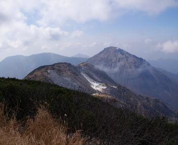 火打山 山頂からの眺望①