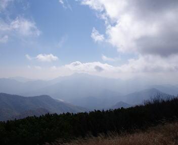火打山 山頂からの眺望②