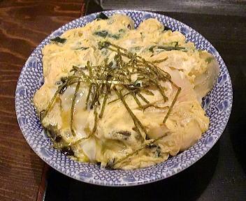 此の花亭 半玉子丼(セット)