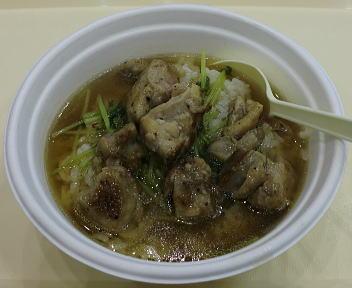 新潟うまさぎっしり博 川俣焼きシャモスープ丼