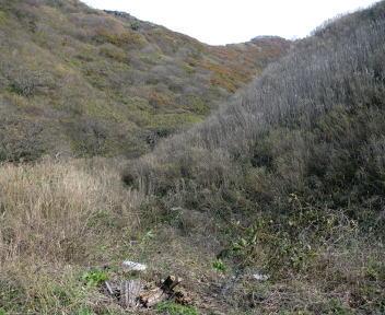 角田山 小浜コース 登山口