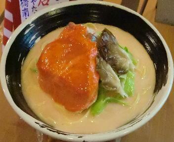 きんしゃい亭&たぶきん柳都大橋南店 冬物語カニらーめん