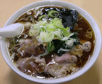 青島西掘通店 ラーメン(大)+ねぎ50