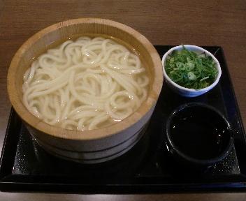 丸亀製麺 釜揚げうどん(大)