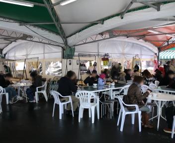 にいがた食の陣 冬 2012 ピアBandai会場