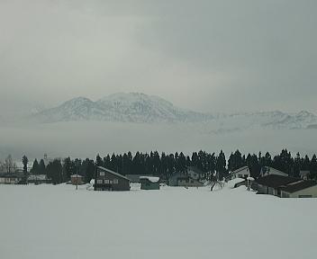 魚沼の雪景色