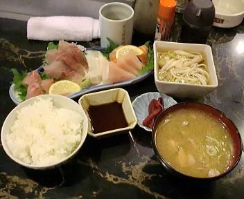 福ちゃん 刺身定食