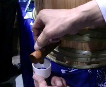 にいがた酒の陣 菊水酒造 樽酒