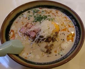 笑美寿亭 クリーミー担々麺(ランチ)