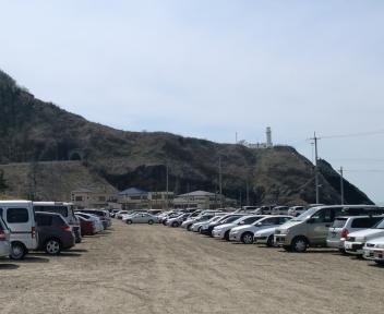 角田浜 駐車場 ①