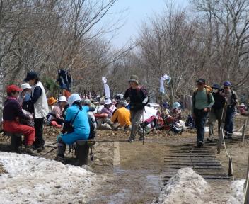 角田山 此の入沢コース 山頂②
