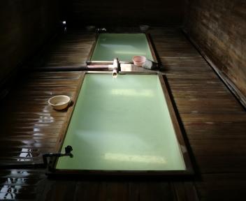 恐山 薬師の湯 内部