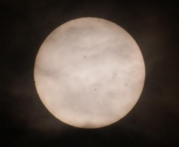 金星の太陽面通過 20120606071341