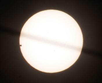 金星の太陽面通過 20120606072729