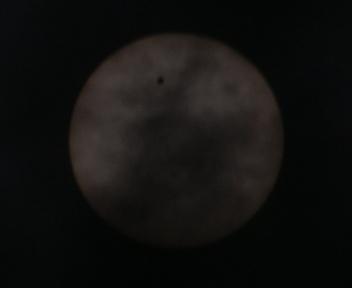 金星の太陽面通過 20120606103031