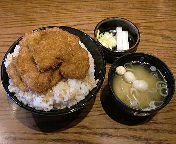 政ちゃん牡丹山店 特製かつ丼+味噌汁
