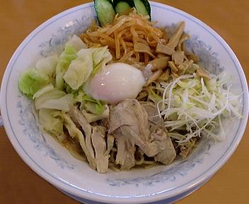のろし新発田店 汁なし冷坦々麺