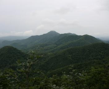 粟ヶ岳 下田小俣登山道 袴腰山