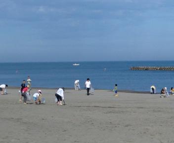 海岸一斉清掃