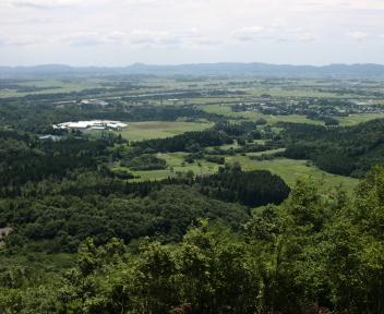 宝珠山 赤松山コース 鉄塔脇からの景色