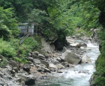 湯の平温泉 女湯 全景