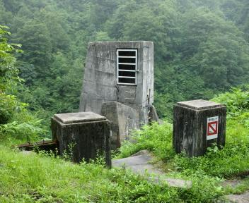 湯の平温泉 加治川ダム