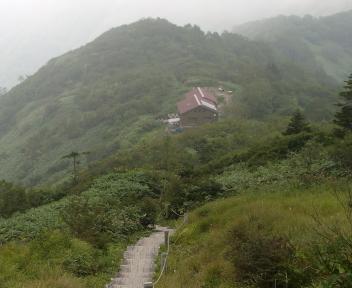 平標山 山頂~平標山の家④