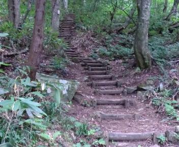 平標山 登山口~鉄塔台地①
