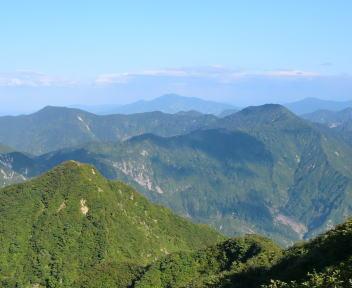 粟ヶ岳 山頂 ⑦