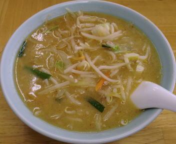 山久ラーメン 味噌野菜ラーメン