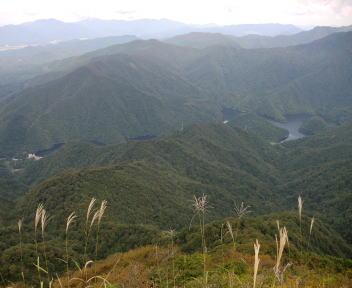 鷲ヶ巣山 中ノ岳②