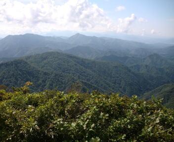 鷲ヶ巣山 中ノ岳④