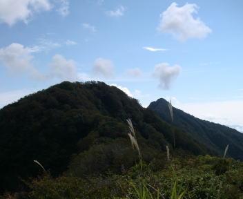 鷲ヶ巣山 中ノ岳⑤