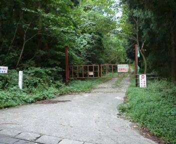 鷲ヶ巣山 林道沼田線ゲート