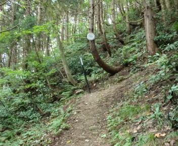 大蔵山~菅名岳 1合目
