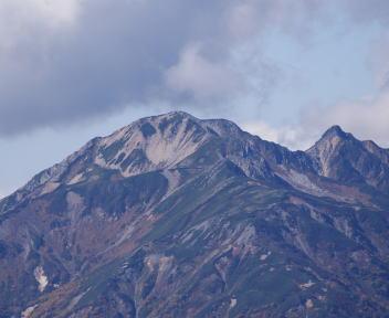 常念岳 山頂 大天井岳