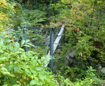 以東岳 大鳥登山口~大鳥池 冷水沢橋