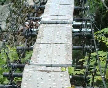 以東岳 大鳥登山口~大鳥池 冷水沢橋②