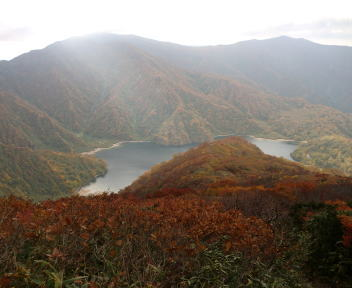 以東岳 山頂~大鳥池⑥