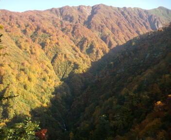 大石山 滝見場