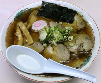 東光亭 チャーシュウ麺