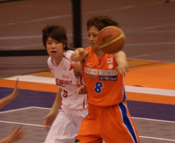 バスケットボール③