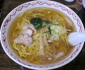 くら田 ラーメン(平麺・ダブル)