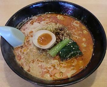 笑美寿亭 赤担々麺(ランチ)