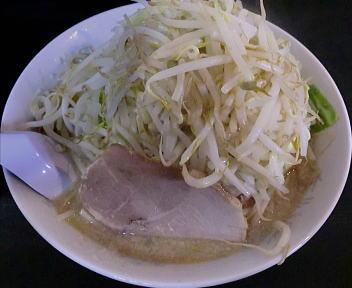 怒門 爆ラーメン(野菜増し)