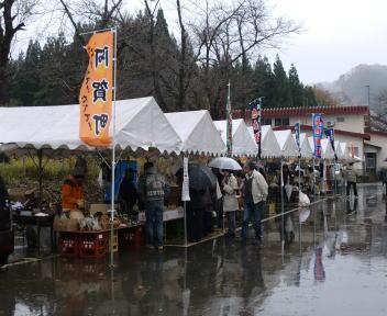 上川そば祭り 直売