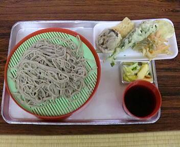 上川そば祭り ざるそば+天ぷら